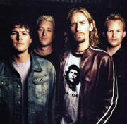 Nickelback Contact info