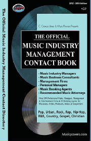 Official Music Industry Manager, Booking, Attorneys