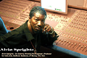 Alvin Speights Mix Engineer