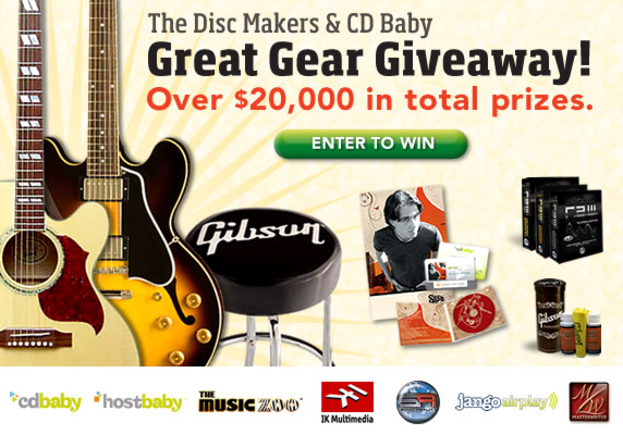 Disc Makers - CD Baby Giveaway