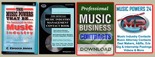 Music Industry Business Pack