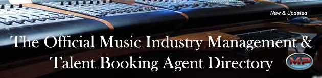 Music Industry Managers & Booking Agents