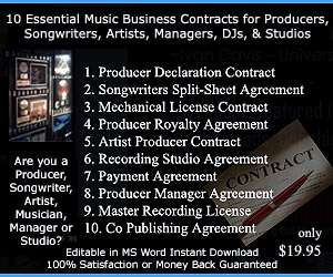 Music Business Contracts Download