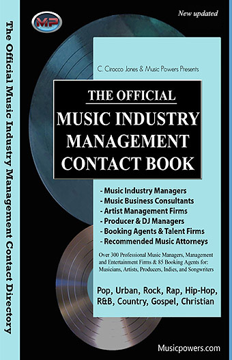 Music managers, Booking Agents, Music Attorneys