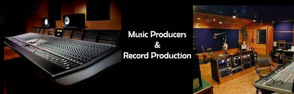 Music Producers & Record Production Studio