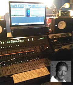 Pro Tools Home Studio with engineer Alvin Speights