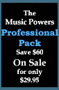 Professional Pack on Sale